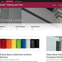 Boral TruExterior Content Library